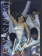 KYLIE MINOGUE~LIVE IN SYDNEY~2001 VG/C DVD~SPINNING AROUND~PHYSICAL AND 18 MORE