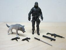 G.I JOE COBRA PURSUIT OF COBRA POC 30TH ANNIVERSARY SNAKE EYES WITH TIMBER