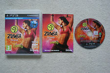 Zumba Fitness   PS3 Game -1st Class FREE UK POSTAGE