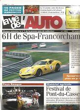 LA VIE DE L'AUTO N°1051 6H DE SPA-FRANCORCHAMPS / FESTIVAL DE POINT-DU-CASSE