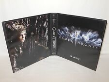 Custom Made Game of Thrones Season 2 Trading Card Album Binder
