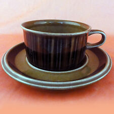 "KOSMOS Arabia Finland Cup & Saucer NEW NEVER USED Oven Proof 2"" tall Finland"