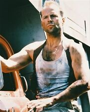 BRUCE WILLIS AS JOHN MCCLANE FROM DIE HARD:  8x10 Photo