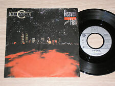 "C.C. CATCH - HEAVEN AND HELL / HOLLYWOOD NIGHTS - 45 GIRI 7"" GERMANY"