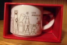 STARBUCKS Ornament -  LOS ANGELES Mug - You Are Here Collection - Gold/White