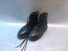 QUALITY GREEN DR MARTENS BOOTS 8 HOLE HIGH UNISEX BOOTS LOVELY USED DM BOOTS