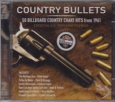 COUNTRY BULLETS - VARIOUS ARTISTS on 2 CD'S - NEW -