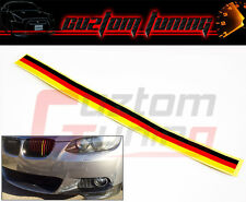 FITS BMW 3 SERIES E90 E92 F30 M3 M4 435I GERMAN FLAG GRILL GRILLE STRIPS DECAL