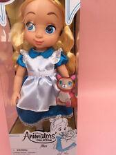 DISNEY Animator Bambino Alice nel paese delle meraviglie BAMBOLA autentica Grandi per Bambini DOLL