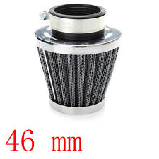 46mm Chrome Universal Motorcycle Air Filter Pod Scooter ATV Dirt Quad Bike Sales