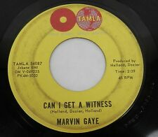 "MARVIN GAYE Can I Get A Witness 7"" 45rpm Single 1963 TAMLA Motown 54087 SOUL R&B"