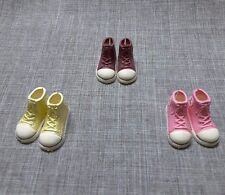NEO BLYTHE LOT OF SNEAKER LIGHT PEARL BROWN PINK MOMOKO LICCA AZONE SHOES