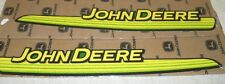 John Deere  Hood Trim Decal set fits L100 L105 L107 L108 L110  GX21140 GX21141