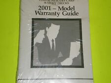 01 2001 FORD TAURUS OWNER'S MANUAL 3 MANUAL SET FREE SHIPPING  NEW OLD STOCK