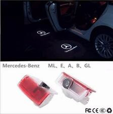 4pcs LED Door Courtesy Laser Projector Shadow Light For Benz E350 E550 W212 E320
