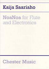 Kaija Saariaho NoaNoa for Flute and Electronics Learn to Play Sheet Music Book