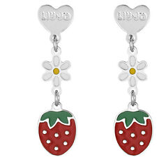 Liu Jo Jewellery Junior Collection Baby Bambina Argento BLJ371 Orecchini Fragola