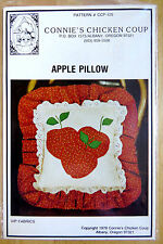 APPLE PILLOW by BCONNIE'S CHICKEN SOUP #125  VINTAGE c '78 CRAFT Sewing Pattern