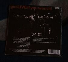 "THE ROLLING STONES GOT LIVE IF YOU WANT IT EP 7""  RSD 2014 ABCO NEW SEALED"