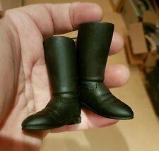 1998 LFL star wars 12 inch figure's bottes noires pour échelle 1/6 ou 12 pouces figure