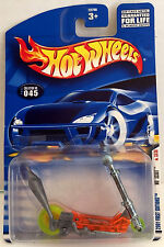 HOT WHEELS 2001 FIRST EDITIONS:  MO' SCOOT ~ MIP