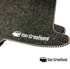 Van Creations Front Cab Mat Set for VW T5 with Double Swivel Seat