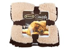 Scruffs Pet Dog Snuggle Comfort Blanket Duvet Reversible Design Chocolate