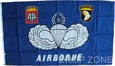 """US Military Army Airborne Flag, 26"""" x 59"""""""