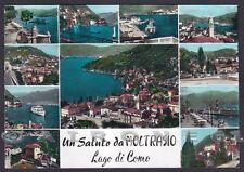 COMO MOLTRASIO 07 SALUTI da... VEDUTINE Cartolina FOTOGRAFICA viaggiata 1964