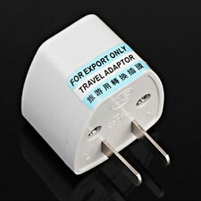 New Universal EU UK AU to US USA AC Travel Power Plug Adapter Outlet Converter