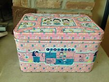 Retro Snoopy Peanuts Beauties Fabulous Girls Storage Tin Lucy Peppermint Patty
