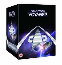 "STAR TREK VOYAGER COMPLETE SERIES SEASONS 1+2+3+4+5+6+7 DVD BOX SET ""clearance"""