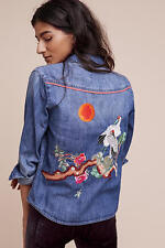 Anthropologie Birds At Sunset Buttondown new with tag SMALL