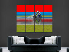 VALENTINO ROSSI MOTORBIKE SUPERBIKE  LARGE  WALL PICTURE POSTER  GIANT HUGE ART