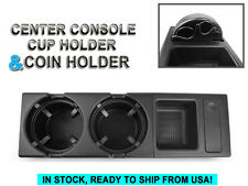 COMBO 1999-06 BMW E46 3 SERIES OE Center Console Storing COIN BOX + CUP HOLDER