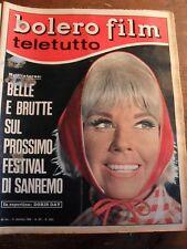 BOLERO FILM  TELETUTTO   DORIS DAY    N° 1023    DICEMBRE 1966