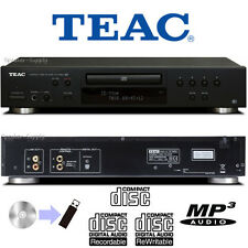 TEAC CD Compact Disc & USB Recorder Player Home Audio MP3 WMA CD-R/RW CD-P650