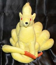 "9"" Ninetales # 38 Pokemon Center Plush Dolls Toys Stuffed Animals 2009 Fire Fox"