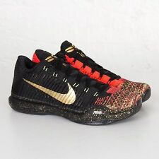 Nike Kobe 10 X Elite Low Xmas Christmas 5 Rings Size 14. 802560-076 jordan bhm
