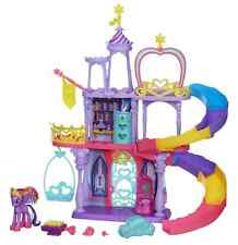 My Little Pony Castle Twilight Sparkle Rainbow Kingdom Playset Princess Figure
