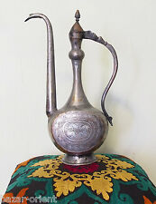 Antik orient islamic Kupfer Teekanne Kanne Persien  antique Ewer pitcher No:LID