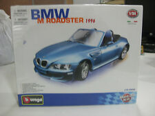 BURAGO BMW M ROADSTER 1996 BLUE DIE CAST METAL KIT-1/24 NUEVO Y CON PRECINTO!!