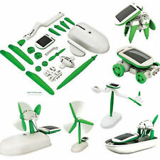 Creative 6 IN 1 Educational Learning Toys DIY Solar Robot Power Kit Children Toy