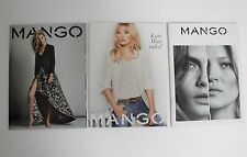MANGO 3 x Fashion Catalogue KATE MOSS & Cara Delevingne 2015 & 2012 NEW