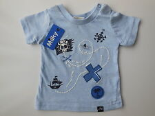 NEW Milky baby boy pirate treasure map t shirt top size 000 Fits 0-3 mths * Gift