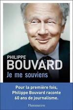 je crois me souvenir... 60 ans de journalisme Bouvard  Philippe Occasion Livre
