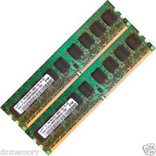 2 GB (2 x 1 GB) DDR2 533 MHZ PC2 4200 memoria ECC Unbuffered Ram 240 Pin Upgrade