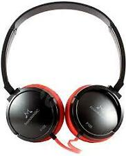 SoundMagic P10S Black Red Headphone with Mic+3 Months Seller Warranty