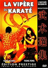 VIPERE DU KARATE/LES 18 IMPLACABLES DU TEMPLE DE SHAOLIN -2 FILMS 1 DVD *** -