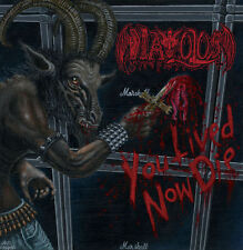 Diavolos - You Lived Now Die CD 2015 death metal Greece Hells Headbangers